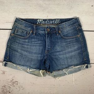 Madewell Denim Cutoff Short